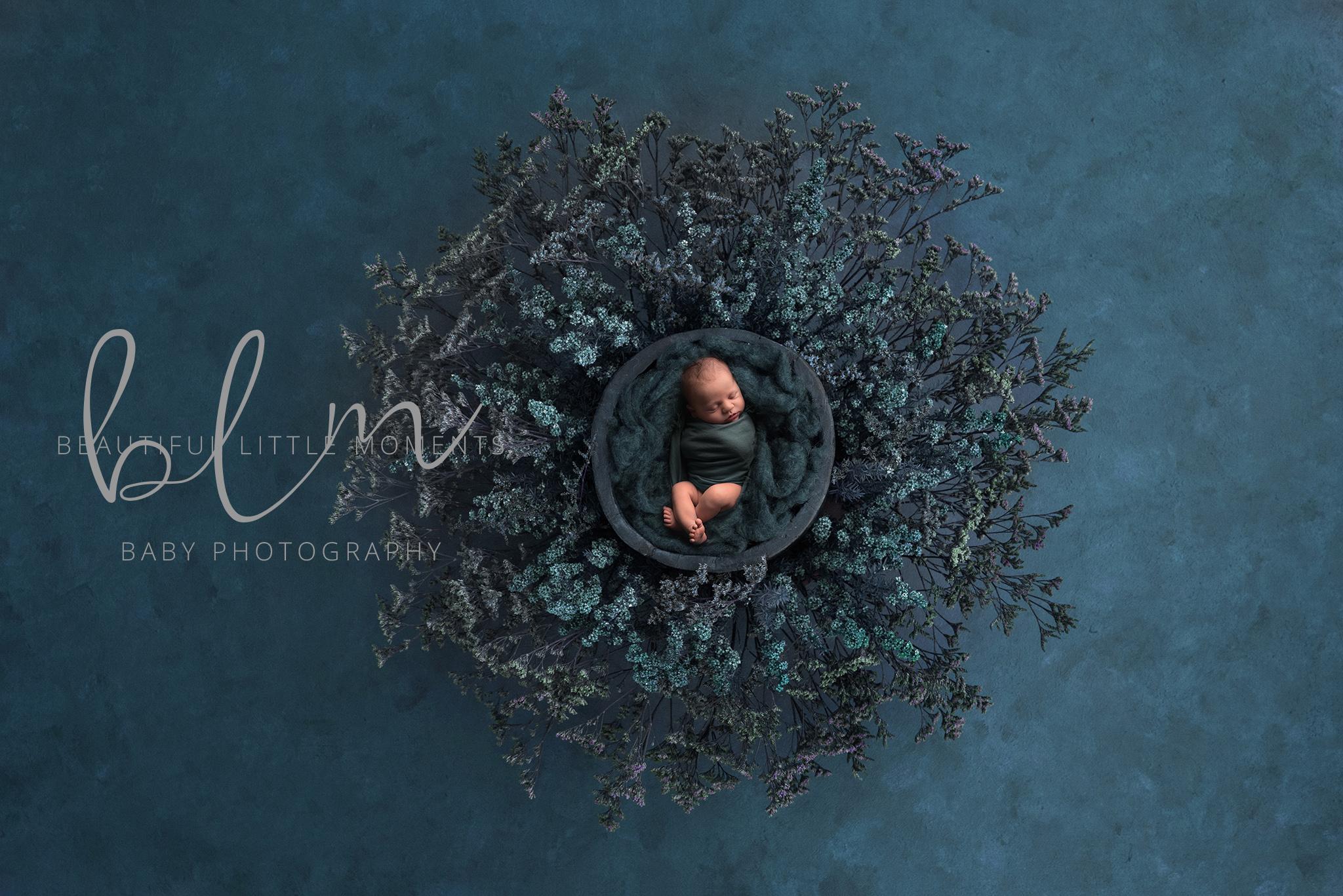 newborn-boy-nest-teal